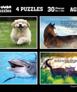 Animal Scriptures Puzzle Images