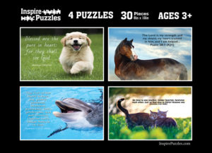 Animal Scriptures Puzzle Images
