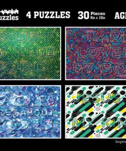 Hidden Messages Puzzle Images