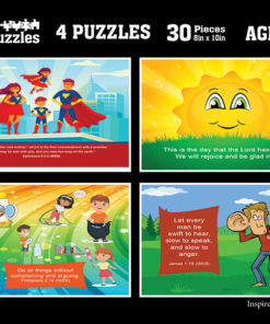 Kids Scripture Puzzle Images