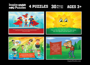 Kids Scripture Puzzle Images